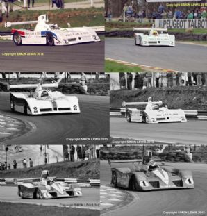 LOLA T530s  Brindley/Foulston, Wilds/Flux Thundersports 1987 6x photos  7x5""